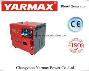 электрический начиная молчком генератор дизеля силы 5kw