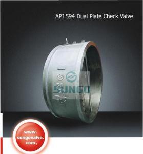 Wafer Dual Plate terugslagklep (SUGO NO.802)