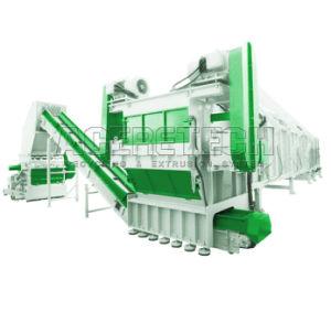 Déchets de plastique PET/PP/PEHD/PEBD/PEBD linéaire/ABS/PVC/ Film PE/sacs tissés Jumbo/bouteille d'ordures Flake /Drum/palette/forfaitaire de tuyau de concassage concasseur//machine de recyclage