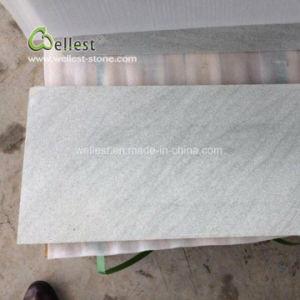 砥石で研がれる白いカラー石のタイルの砂岩30X60X2cm