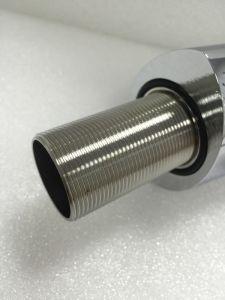 透かしの正方形の真鍮の浴室の洗面器水蛇口(604.10.01)