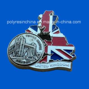 Metal Zinc Alloy CraftsのロンドンSouvenir Magnet