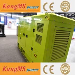 generator 100kw 125kVA met Stille Doos met Certificatie van Ce ISO9001 van de Tank van de Brandstof de Controlebord Overgegaane
