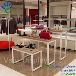 도매 Exellect Quallity 구두 가게 진열대 소매점 전시 테이블