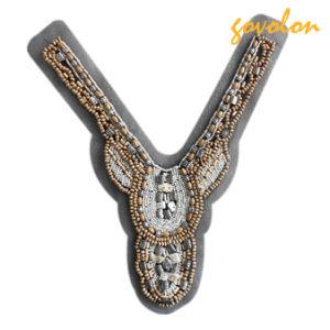 Nuovo Y Shape Garments Collar di Style Handmade con Beads