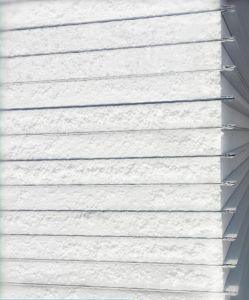 Mousse EPS SIP sandwich composite en acier de mur chambre propre et froide du panneau de toit