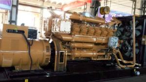 침묵하는 닫집 소리 증거 디젤 엔진 발전기 세트를 가진 큰 힘