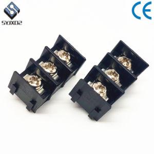 7620 300V 20A 7,62mm 24-12AWG 2-15p conector del bloque de terminales de barrera