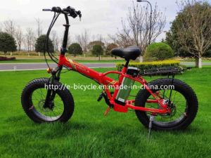 """Novo design do garfo de suspensão de 20"""" Dobra Flodable Bicicletas eléctricas"""