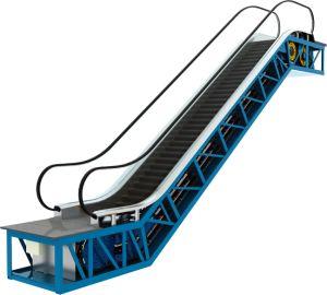 Comercial en el interior de la escalera mecánica con Vvvf movimiento económico Auto Start Stop