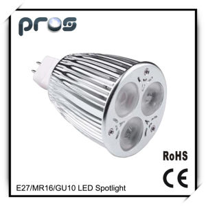 3*3W GU10 LED Spotlight Interior Lamp E27 MR16