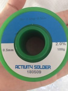 Collegare senza piombo Sn-3.0AG-0.5cu della saldatura