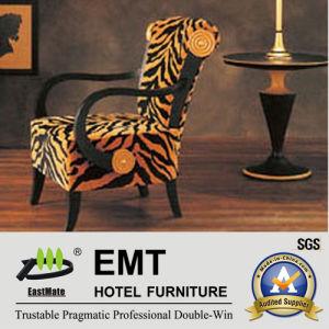 Chaise en bois à la mode de couleur en bois (EMT-002)