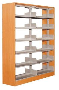 Полочные современной деревянной мебелью из библиотеки