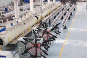 プラスチック管- PVC電気の管の管の生産ライン