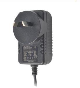 PSE FCC-UL-Zustimmungs-Stufe VI 12V 1A Energien-Adapter Wechselstrom-Gleichstrom-12W für gesetzten Spitzenkasten