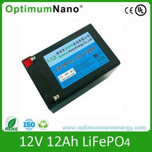 12V 12Ah Li-ion para cochecito de juguete eléctrico