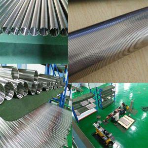 Schermo di collegare del cuneo dell'acciaio inossidabile con la scanalatura di 0.025mm per la macchina del filtrante della birra