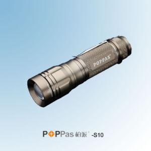 ズームレンズのクリー族T6の高い発電アルミニウムLEDの懐中電燈