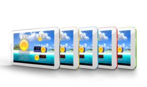 9 Polegadas rentáveis MT6572, com núcleo duplo 3G WCDMA Webcam++ o Bluetooth 800*480 Smart Phone + Tablet