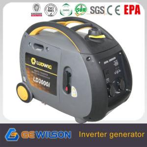 3000W 4 Цикл Ohc цифровой портативный генератор инвертора с колеса и ручка