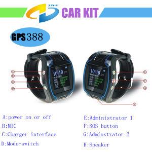 Vigilância pessoal GPRS Rastreador GPS para idosos