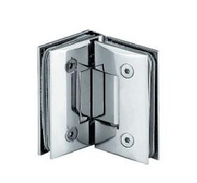 A dobradiça da porta de vidro chuveiro feitas de latão