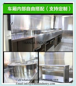 Strong питание торговые автоматы с приводами с оборудованием для приготовления пищи Hot Dog тележки