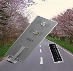 Sensor de luz exterior Solar todo en un solar integrada solución 70W Calle luz LED