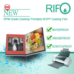 MSDS를 가진 Rpm 110 탁상용 프린터 인쇄할 수 있는 PP 합성 종이