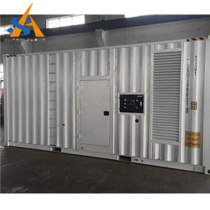 Большой генератор силы 1200-2000kw Containerized с Perkins на трейлере