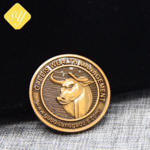 Una buena calidad China mayorista de fabricantes de monedas de cobre para regalo de recuerdo