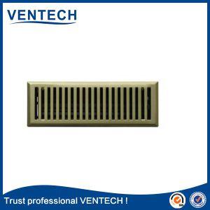 Сопло вентиляции пола регистра вентиляционные решетки металлического