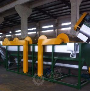 De HDPE de plástico PP Garrafas Pet reciclagem de PVC da Linha de Lavagem