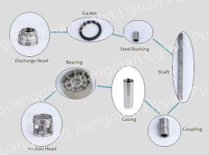 La fabricación de Guangdong 4 pulgadas de centrifugas sumergibles de pozo profundo bomba de pozo