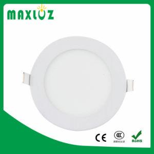 China Fornecedor Rebaixada Redonda Ultra Slim 24W Luz do painel de LED