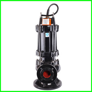 A pasta fluida de esgoto de cabeça alta Single-Stage Vertical das bombas submersíveis bomba de esgoto