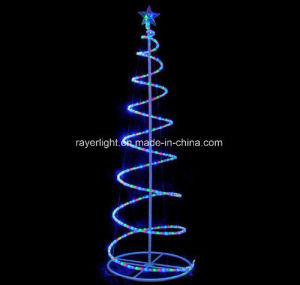 Indicatori luminosi esterni dell'albero di Natale dell'indicatore luminoso della corda della decorazione LED di natale