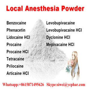 Lokales Betäubungsmittel mischt Prilocaine 721-50-6 Droge Schmerz-Mörder-Puders Prilocaine bei