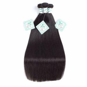 8Un cheveu humain vierge naturel brut