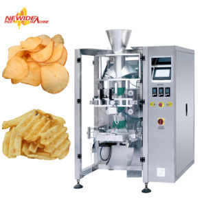 Automatic Pringle Potato Broad Chips Crisps Snack bars Scale Packaging Machine