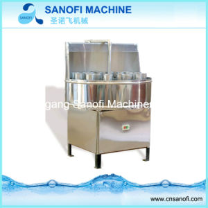 Tecla Semi-Auto Pet/garrafa de vidro máquina de lavar roupa (CP-24)