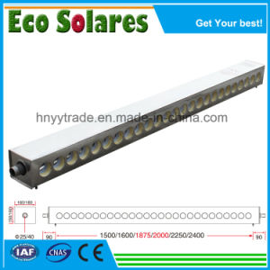 Pour l'hôtel/école/hôpital/usine d'eau chaude la fourniture de tube de dépression collecteur solaire