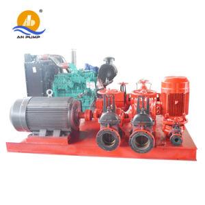 O motor diesel da bomba de água de irrigação