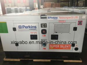 Powered by diesel Perkins Grupo Electrógeno 10kVA.