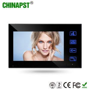 7-дюймовый цветной сенсорный проводной сети ключ безопасности видео домофон Добро пожаловать (PST-VD7WT2)