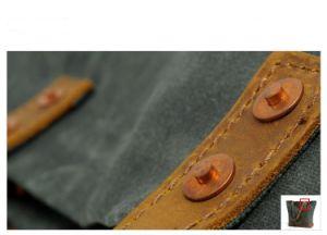 Novo Design de lona impermeável Senhoras's Sacola de Compras Mulheres Tote bolsas de couro (RS-62250-P)