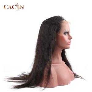 Guangzhou Onda de água de cabelo humano Misture Lace Front Peruca Francês Onda Dedo Lace Peruca