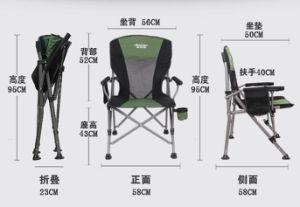 Plegado de silla de playa con carrocería ligera silla plegable