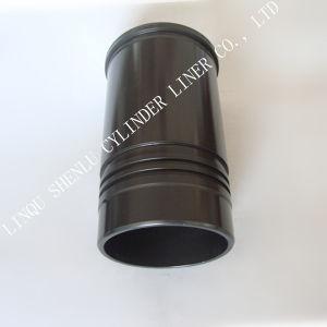 Manicotto del cilindro delle parti di motore del camion KOMATSU 6D125
